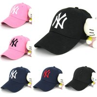 ball trends - Trend hot NY Letter men women baseball cap snapback Hip hop Adjustable hat sport Dad hats High quality unisex Basketball caps have hoop