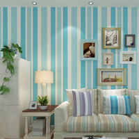 Special Effect Wallpapers beauty wallpaper light - Simple modern Mediterranean stripes without the release of bedroom living room TV wallpaper people look up to the romantic beauty D stereo