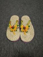 Wholesale Flat Heel Flip Slippers Comfortable Summer Beach Flip Flops Brief Casual Sandals Shoes For Women