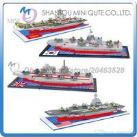 aircraft carrier ships - DHL Mini Qute DR STAR vehicle Nimitz class aircraft carrier plastic building block brick model Action Figure educational toy