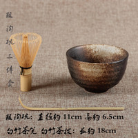 Wholesale tea ceremony sets matcha bowl bamboo scoop matcha whisk teaware