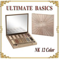 Wholesale NEW Urban Ultimate Basics All Matte Eyeshadow Lidschatten matte Farben Matte Eye Shadow color Palette GIFT