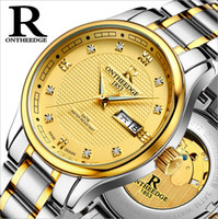 Wholesale Genuine Rui edge watches men s automatic mechanical watches business men s watch luminous hollow water proof fine steel