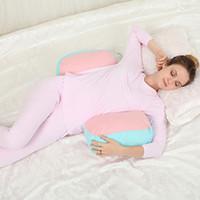 Vente chaude Nouveauté Maternité oreiller lombaire pour femmes Coussin de soutien de la taille du ventre Coulis de lit confortable Livraison gratuite