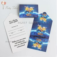 Wholesale Party supplies birthday party Minions theme party decoration invitation card