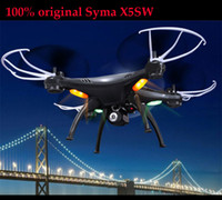 Wholesale SYMA X5SW x5sc x5s WiFi Drones With FPV Camera HD Quadcopters Rc Dron WiFi Flying Camera Helicopter Remote Control Hexacopter Toys