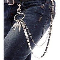 Wholesale Hip hop waist chain metal fashion sword waist chain women and men street new waist chain