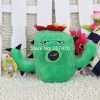 Wholesale inch cm Cute Plant Vs Zombies Series Plant Cactus Plush Toy Doll pack