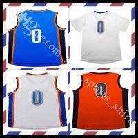 Men basketball t shirt jerseys - New Men s Stitched russell westbrook retro basketball jersey throwback Jerseys Embroidery Logos T shirt