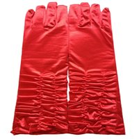 Wholesale Hot Recommended Bride Is Refers To The Fold Long Gloves Which At The Low Price With Excellent Quality