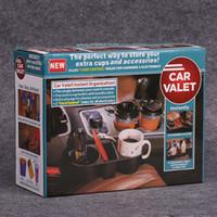 Wholesale Car Valet Cup Holder Mobile Phone Holders Joint Chair Shelves Vehicle Multi Function Rack Vehicle Beverage Racks nf