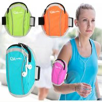 Wholesale Colors Running Bag Waterproof Men and Women Arm Bags For inches inches Phone Outdoor Run Arms Package Running Accessories