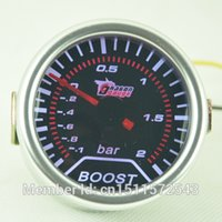 Wholesale mm UNIVERSAL TINTED TURBO BAR BOOST GAUGE FIT FOR CAR MOTOR bar