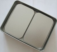 Wholesale 320PCS Silver matte rectangular candy box creative Tin storage boxes Size cm cm cm ml fast shipping for DHL