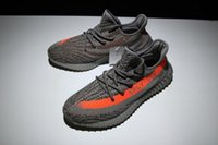 Wholesale Kanye west Boost V2 Beluga SPLY Stealth Grey black white Men Women Sport Shoes Ship With Box Drop Shipping
