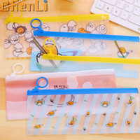 Wholesale Pencil case Novelty Gudetama Lazy Egg PVC Waterproof Pencil Bag Stationery Storage Organizer Bag School Supply Student Prize