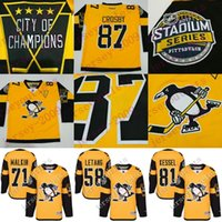 Wholesale Men s Pittsburgh Penguins Sidney Crosby Kris Letang Matt Murray Phil Kessel Stadium Series Player Premier Jersey stitched