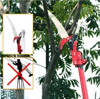 anvil lopper - High Branch Ratchet Action Saw Lopper Garden Thick Branch Carbon Steel Pruning Shear Good Helper