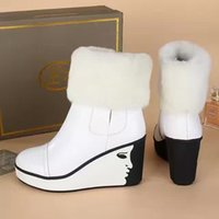 ash beauty - superior quality ash leather boots inside Terry inside wool head collar Beauty boots