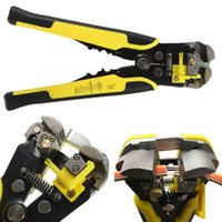 Wholesale Professional Automatic Wire Striper Cutter Top Quality Wire Stripper Crimper Pliers For Terminal Tools