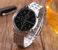 Relojes de acero de la correa de acero de los hombres Relojes de manera de acero de los hombres creativos de la venta caliente de la alta calidad