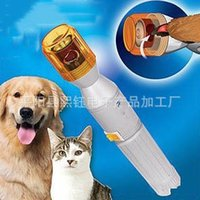 Wholesale Pet Dog Nail Grinding Device Implement Kitty Electric Grinding Tool Nails Clippers Pain Free No Mess New Arrival xy