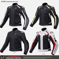 Wholesale High quality komine jk063 motorcycle jacket ride jackets racing off road clothing men s off road jacket cycling jackets have protection