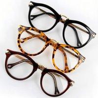Wholesale Women Eyeglass Arrow Clear Lens Glasses Frame Round Designer UV400 Eyeglass