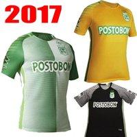 Soccer aria mix - Mixed order Atletico Nacional home soccer jerseys Diego Arias Cardenas Luis Carlos away rd football jersey shirts