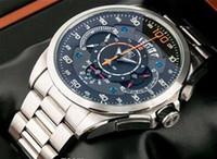 Precio de Gifts-Venta al por mayor - Nuevo reloj de los hombres del cuarzo del deporte del AAA SLS impermeabiliza los relojes del zafiro de los slm de los 50m Relojes del regalo del reloj de la pulsera del acero inoxidable