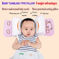 Wholesale Autumn and winter Juemingzi corrected years old newborn baby pillow anti migraine baby pillow correction of Bu