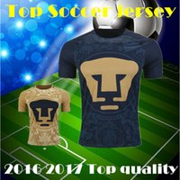 Wholesale top Quality Mexico club Pumas UNAM Home BLUE Away soccer jerseys camisetas de futbol Cougar Pumas UNAM football Shirts