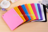 apple jelly beans - Hot Sale Jelly Bean Cute Smart Soft Silicone Rubber Protective Case For Ipad Mini