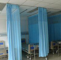antibacterial curtain - High grade fire fire retardant antibacterial hospital curtains medical curtain Sheer Curtains