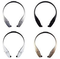 Wholesale HBS HBS Wireless Sport Neckband Headset In ear Headphone Bluetooth Stereo Earphones Headsets For LG HBS iphone Samsung US06