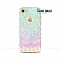 apple sub - 2016 for Iphone painted Mandala new mobile phone shell sub factory accessories cover Apple S Protective cover for mobile phone protection