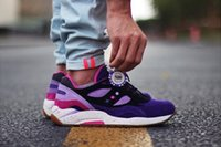 b rollers - Feature x Sports Running Shoes Women Men Saucony G9 Shadow High Roller Sneaker Outdoor Casual Walking Shoes