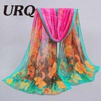 artist scarves - PC cm hot silk scarves Elegant Style Fashion woman Artist oil Painting chiffon scarves P5A16417
