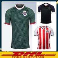 Rugby Men Short DHL Free shipping 2017 2018 Mexico Club Chivas de  Guadalajara Soccer Jersey Home 3259039f0