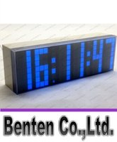 big led alarm clock - Multi function Large Big LED Digital Alarm Table Wall Clock Countdown Weather Date Temperature Timer Display Desk Clock LLFA