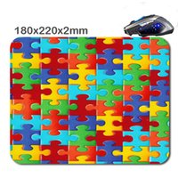 beautiful mouse pads - Beautiful personality puzzle mouse pad to decorate your desk and laptop computers can be used as a gift