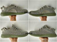 Cheap 2017 Adidas Yeezy 350 Boost Shoes Moonrock Womens Men Running Shoes Sports Kanye West Yzy 350 Yeezys Boosts Athletic Trainer High Quality
