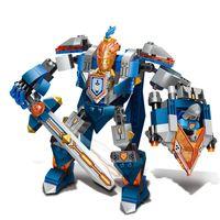 Wholesale Cartoon knight robot building blocks for children s toys improve children s intelligence the best gift for children