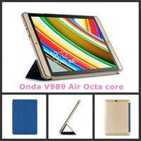 Cheap Wholesale-High quality PU leather case For Onda V919 Air Dual boot, V919 Air CH,V989 Air Octa core 9.7 inch Tablet PC protective cover