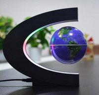 Wholesale Magnetic levitation of the globe children s intelligence development novelty products gifts