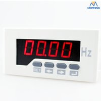 Wholesale China ME F51 mm white and black AC V LED digital display remote control frequency meter