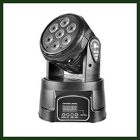 Wholesale Fast Delivery W Led Mini Zoom Moving Head Stage Spot Light DJ Disco Party Club Live Concert DMX Lighting