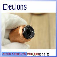 av suppliers - 2016 Hottest Contact Supplier Leave Messages Shenzhen supplier colorful AV battle cap resin Drip tip Garrymead Resin Drip Tip Comp Lyfe