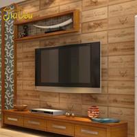 art paper texture - Art Show Wood Texture D Vinyl Letter Wallpaper Countryside Pub Dining Room Kitchen Wall Covering Wallpaper Roll Papel De Parede