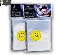 Wholesale 100 stks pak Kaart Mouwen Kaarten Protector Barrie Magic De Gathering Mtg Pokmen TCG Board Game Mouwen mm